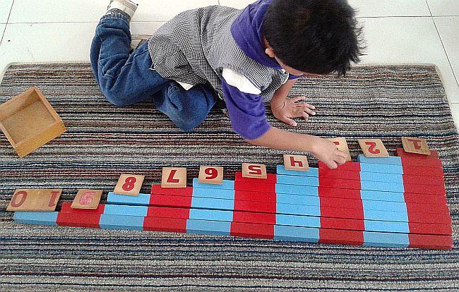 barras numericas