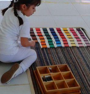 tabletas de colores