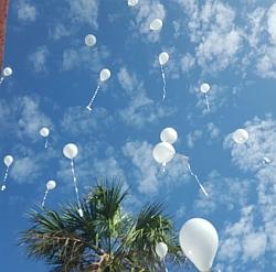 globos de paz